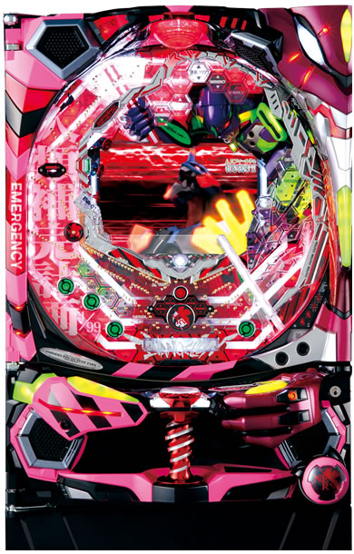 ビスティ CRエヴァンゲリオン7 Light Ver. ピンク枠甘デジ『バリューセット3』[パチンコ 実機][A-コントローラーPlus+循環加工/家庭用電源/音量調整/ドアキー/取扱い説明書付き〕[中古]