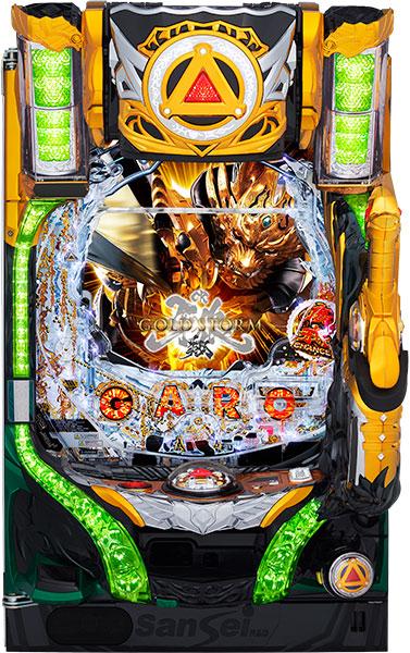 サンセイ CR牙狼GOLDSTORM翔『バリューセット3』[パチンコ 実機][A-コントローラー+循環加工/家庭用電源/音量調整/ドアキー/取扱い説明書付き〕[中古]