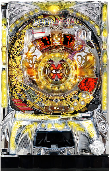 KONAMI ゴールドマックス 限界突破!!!!!『バリューセット3』[パチンコ実機][A-コントローラーPlus+循環リフター/家庭用電源/音量調整/ドアキー/取扱い説明書付き〕[中
