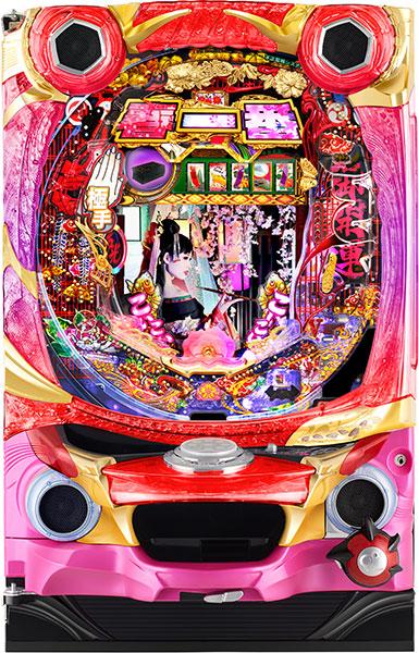 西陣 P春一番~花札昇舞~MC『バリューセット3』[パチンコ実機][A-コントローラーPlus+循環リフター/家庭用電源/音量調整/ドアキー/取扱い説明書付き〕[中古]