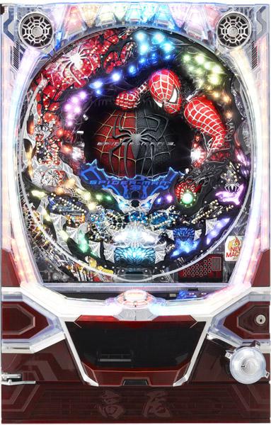 高尾 CRブラックスパイダーマン 衝動 甘デジ 『バリューセット3』[パチンコ 実機][A-コントローラーPlus+循環加工/家庭用電源/音量調整/ドアキー/取扱い説明書付き〕[中古]