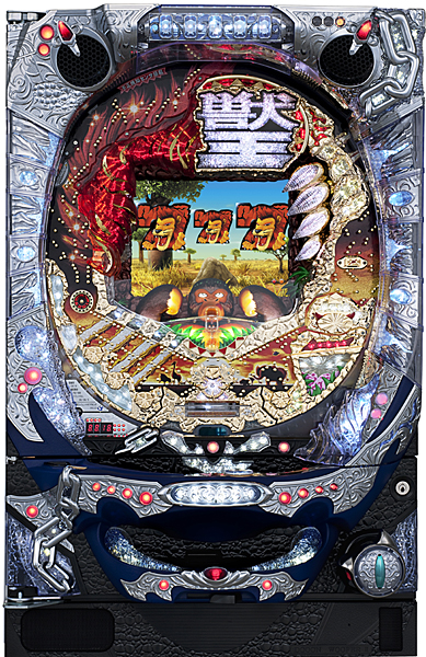 サミー ぱちんこCR獣王 『バリューセット3』[パチンコ 実機][A-コントローラーPlus+循環加工/家庭用電源/音量調整/ドアキー/取扱い説明書付き〕[中古]