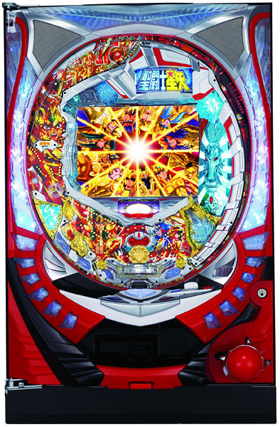 SANYO CR聖闘士星矢-黄金- 『バリューセット3』[パチンコ 実機][A-コントローラー+循環加工/家庭用電源/音量調整/ドアキー/取扱い説明書付き〕[中古]