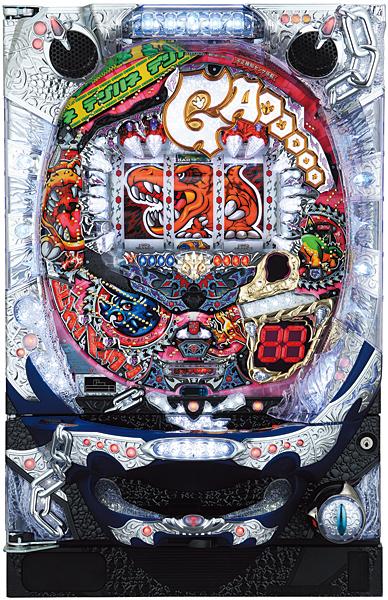 サミー CRガオガオキングPTERA『バリューセット3』[パチンコ実機][A-コントローラーPlus+循環リフター/家庭用電源/音量調整/ドアキー/取扱い説明書付き〕[中古]