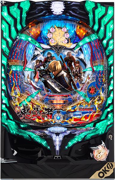 オッケー. CRぱちんこ新鬼武者 Light Version 『循環リフターセット』[パチンコ実機][循環リフター付き/家庭用電源/音量調整/ドアキー/取扱い説明書付き〕[中古]