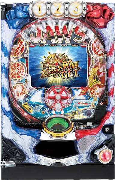 平和 CRA JAWS~it's a SHARK PANIC~99.9ver. 『ノーマルセット』[パチンコ実機][家庭用電源/音量調整/ドアキー/取扱い説明書付き〕[中古]