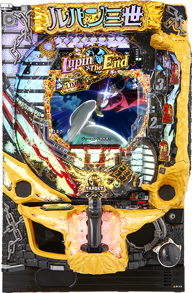 平和 CRルパン三世~Lupin The End~319ver. 『ノーマルセット』[パチンコ実機][家庭用電源/音量調整/ドアキー/取扱い説明書付き〕[中古]
