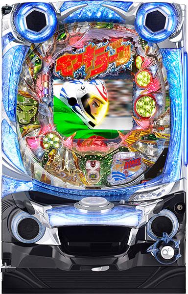 西陣 CRAモンキーターン 神速の勝利者GLB『循環リフターセット』[パチンコ実機][循環リフター付き/家庭用電源/音量調整/ドアキー/取扱い説明書付き〕[中古]