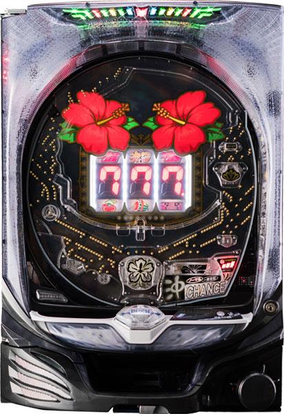 マルホン P沖7 BLACK『バリューセット1』[パチンコ実機][オートコントローラータイプ1(自動回転/保留固定/高速消化/玉打ち併用)+循環リフター/家庭用電源/音量調整/ドアキー