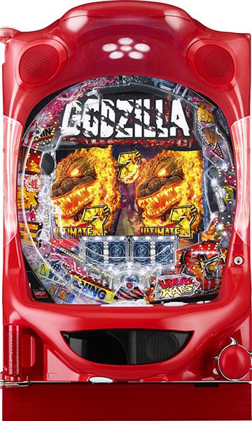 ニューギン PA真・怪獣王ゴジラN2-K6『バリューセット3』[パチンコ実機][A-コントローラーPlus+循環リフター/家庭用電源/音量調整/ドアキー