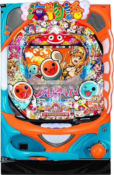 SANYO PAスーパー海物語 IN JAPAN2 with 太鼓の達人『循環リフターセット』[パチンコ実機][循環リフター付き/家庭用電源/音量調整/ドアキー/取扱い説明書付き〕[中古]