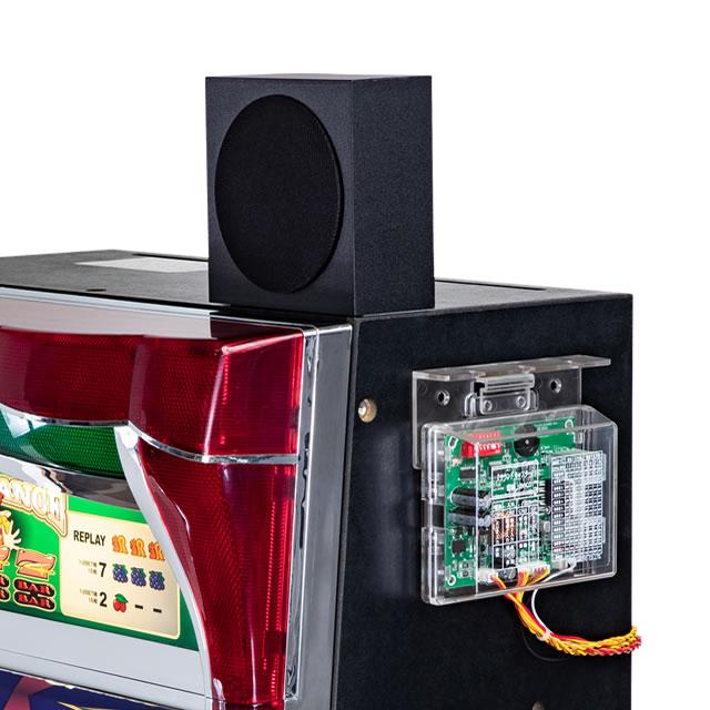 【新品】大当り告知サウンドが12種類から選べる!音声装置『サウンドキャスター』