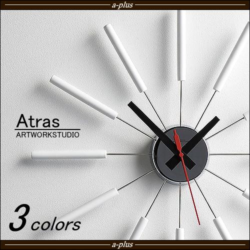掛け時計 Atras アトラス ART WORK STUDIO(アートワークスタジオ)【HLS_DU】【APA】着後レビュー記入応募ご連絡で500円クーポンプレゼント