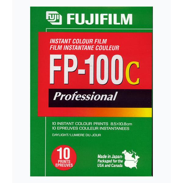 FUJIFILM FP-100C(剥離式インスタントフィルム ISO-100カラー 1パック10枚撮り)