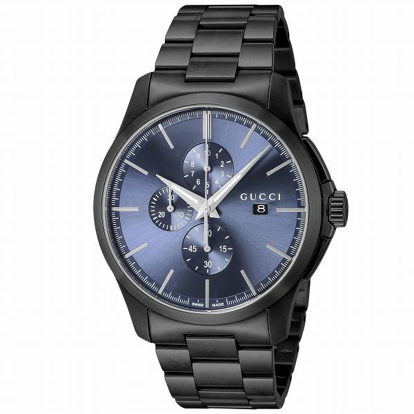 【送料無料】GUCCI(グッチ) YA126275 ブルー/ブラック [クォーツ腕時計 (メンズウオッチ)] 【並行輸入品】