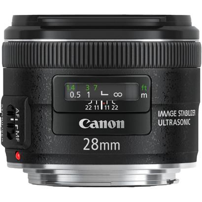 【送料無料】CANON EF28mm F2.8 IS USM [広角単焦点レンズ]