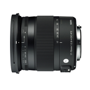 SIGMA 17-70mm F2.8- 4 DC MACRO OS HSM [17-70mm/F2.8-4.0 ニコンF APS-Cサイズ用レンズ]