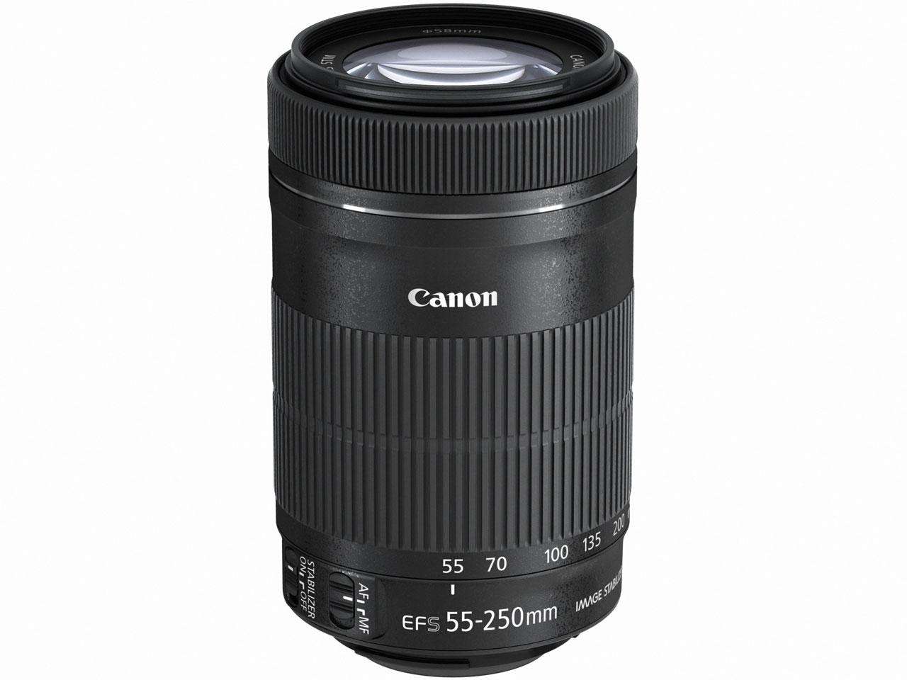 【送料無料】CANON EF-S55-250mm F4-5.6 IS STM [望遠ズームレンズ]
