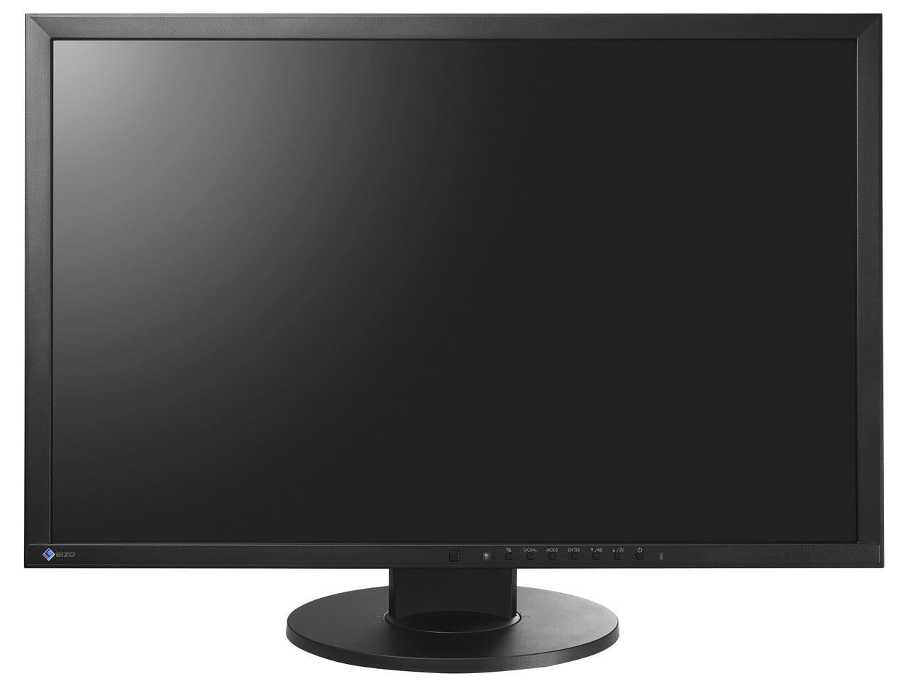 【送料無料】EIZO EV2416W-ZBK ブラック FlexScan [24.1型ワイドLEDバックライト搭載液晶モニター]【同梱配送不可】【代引き不可】【沖縄・北海道・離島配送不可】