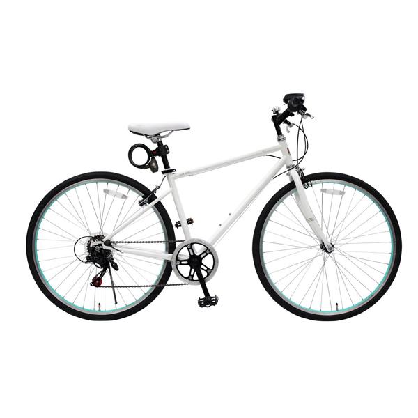 【送料無料】TOP ONE MCR266-29-WH [クロスバイク 26インチ ホワイト]【同梱配送不可】【代引き不可】【沖縄・北海道・離島配送不可】