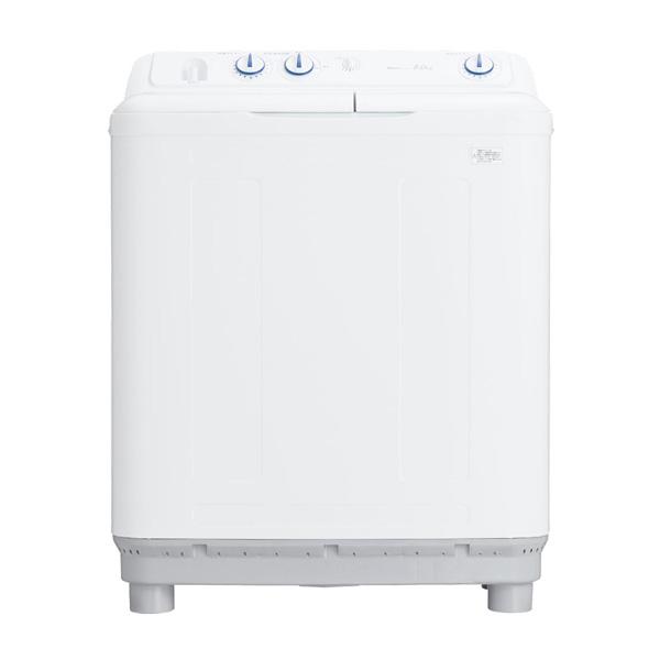 【送料無料】ハイアール JW-W80E-W ホワイト [2槽式洗濯機 (8.0kg)]