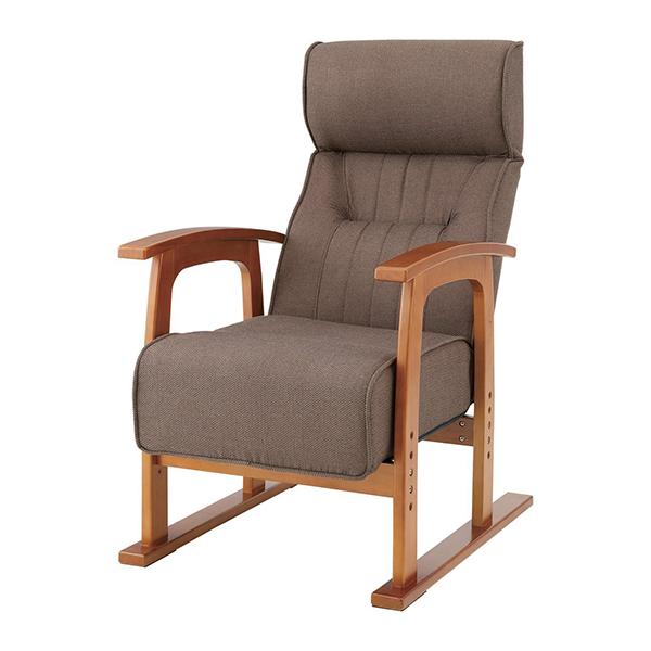 【送料無料】東谷 THC-106BR ブラウン クレムリン [キング高座椅子]【同梱配送不可】【代引き不可】【沖縄・北海道・離島配送不可】