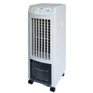 【送料無料】TEKNOS TCI-007 ホワイト [冷風扇風機(リモコン付き)] テクノス 冷風扇風機 自然風 テクノイオン マイナスイオン 消臭 除菌 タイマー付