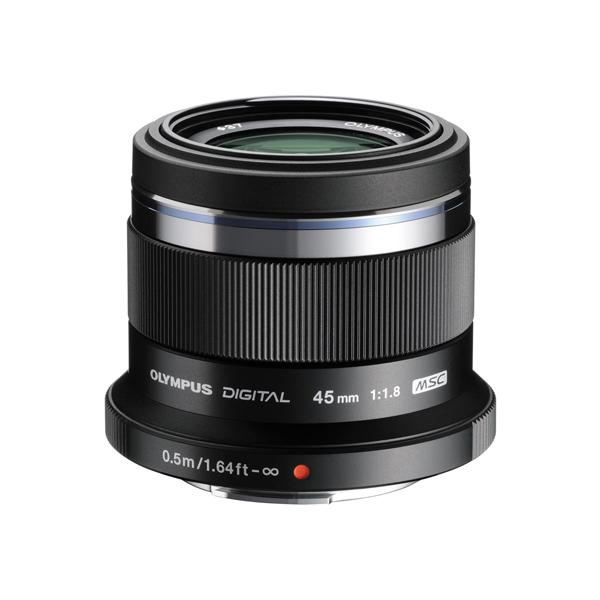 【送料無料】OLYMPUS(オリンパス) 45mm F1.8 BLK (ブラック) [単焦点中望遠レンズ (45mm F1.8 )]