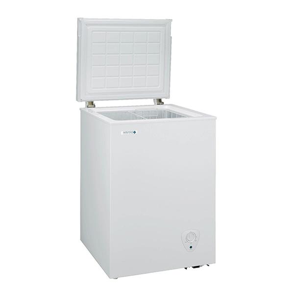 【送料無料】日本ゼネラル・アプライアンス JH94CR ホワイト NORFROST(ノーフロスト) [冷凍庫(94L・上開き)]
