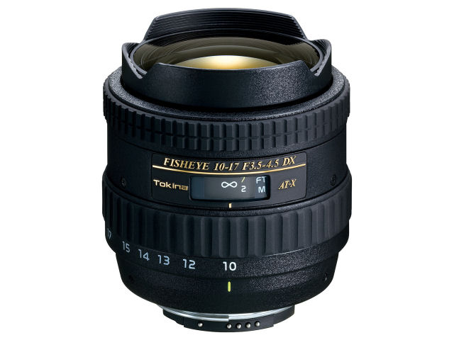 【送料無料】TOKINA AT-X 107 DX Fish Eye 10-17mm F3.5-4.5 (ニコン用)