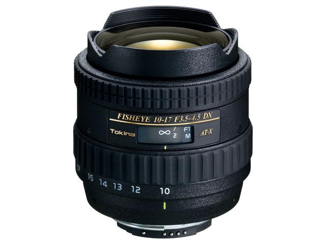 【送料無料】TOKINA AT-X 107 DX Fish Eye 10-17mm F3.5-4.5 (ニコン用)