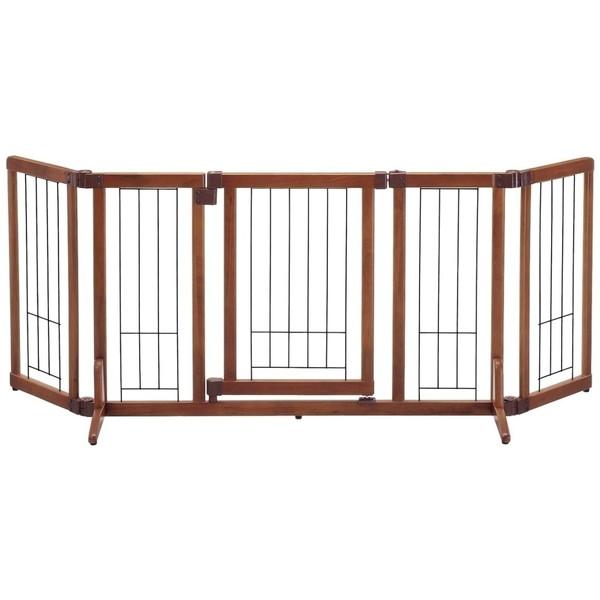 Richell 木製おくだけドア付ゲート Mサイズ [犬用ゲージ]