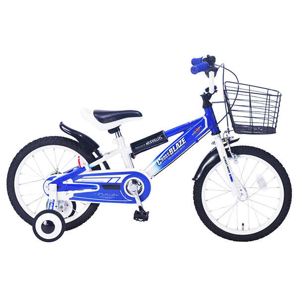 【送料無料】マイパラス MD-10-BL ブルー [子供用自転車(16インチ) 補助輪付き]【同梱配送不可】【代引き不可】【本州以外の配送不可】