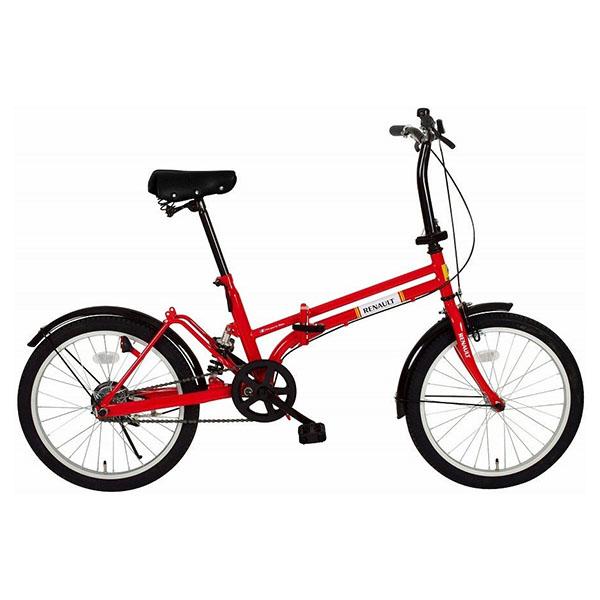 【送料無料】ルノー MG-RN20R レッド [折りたたみ自転車(20インチ)] 【同梱配送不可】【代引き・後払い決済不可】【沖縄・北海道・離島配送不可】