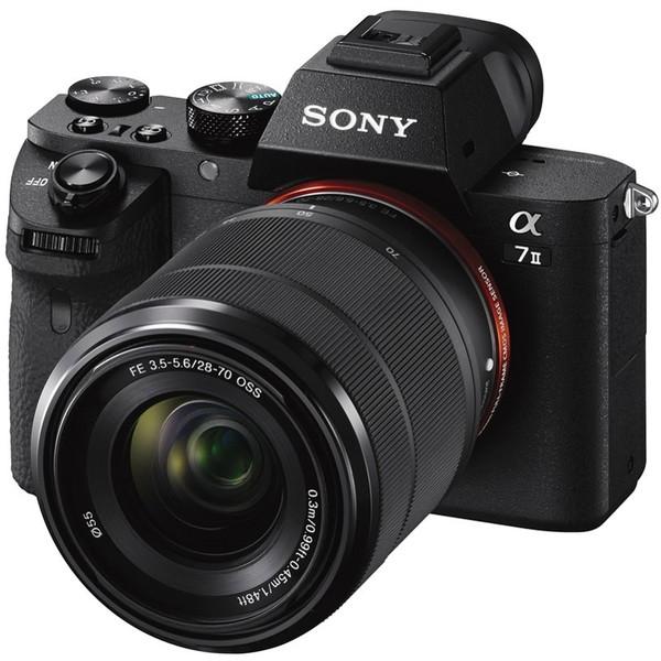 【送料無料】SONY ILCE-7M2K ズームレンズキット α7II [デジタル一眼カメラ (FE 28-70mm F3.5-5.6 OSS」 レンズキット 35mmフルサイズ)]