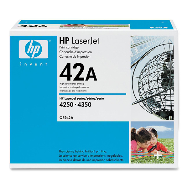 【送料無料】HP Q5942A ブラック [トナーカートリッジ]【同梱配送不可】【代引き不可】【沖縄・北海道・離島配送不可】