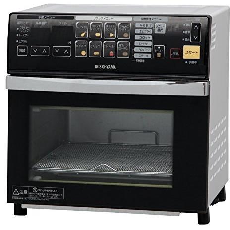【送料無料】アイリスオーヤマ FVX-M3A-W ホワイト リクック熱風オーブン [ノンフライ熱風オーブン]