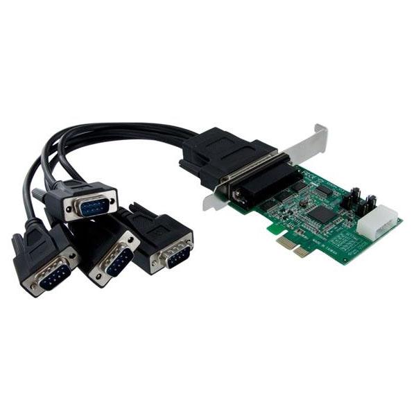 【送料無料】StarTech PEX4S952 [シリアル増設 PCI Expressインターフェースカード(4ポート)]