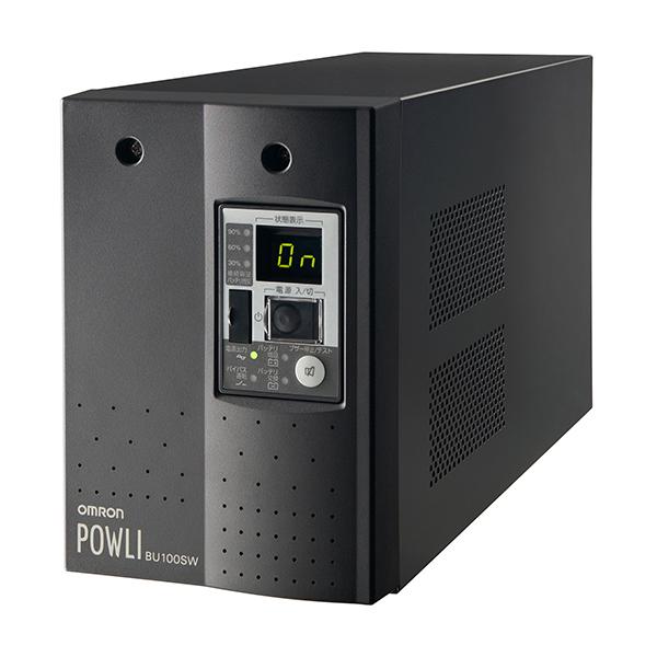 【送料無料】OMRON BU100SW [無停電電源装置(UPS)]【同梱配送不可】【代引き不可】【沖縄・北海道・離島配送不可】