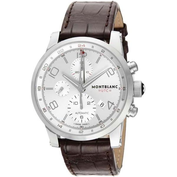 最高級 【送料無料】Montblanc モンブラン MBL-107065 TIME WALKER UTC 自動巻き [腕時計], 六戸町 54bff43b