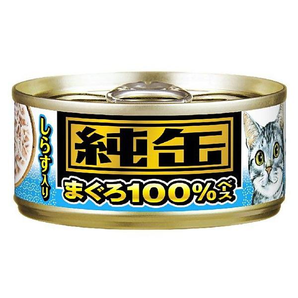 アイシア 純缶ミニ しらす入り 65g [猫用フード]