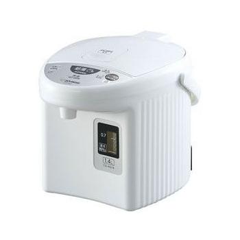 【送料無料】象印 CD-KG14-WA ホワイト [マイコン沸とう電動ポット (1.4L)]