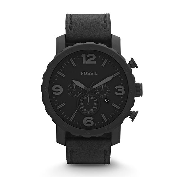 【送料無料】FOSSIL JR1354【並行輸入品】 ブラック ブラック NATE(ネイト) JR1354 [腕時計]【並行輸入品】, お好み焼 風の街:327709b5 --- sunward.msk.ru