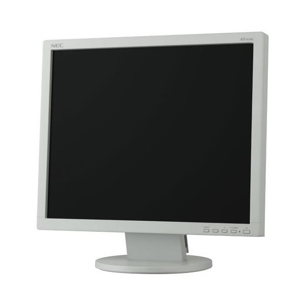 【送料無料】NEC LCD-AS193MI-W5 ホワイト [19型液晶モニター(LEDバックライト搭載)] 【同梱配送不可】【代引き・後払い決済不可】【沖縄・北海道・離島配送不可】