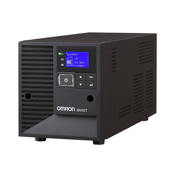【送料無料】OMRON BN50T [無停電電源装置 据置型(UPS)]【同梱配送不可】【代引き不可】【沖縄・離島配送不可】