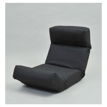 【送料無料】JKプラン ZSY-NHBCK-BK 新ハイバックチェア ブラック [座椅子]【同梱配送不可】【代引き不可】【沖縄・北海道・離島配送不可】