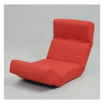 【送料無料】JKプラン ZSY-NHBCK-RD 新ハイバックチェア レッド [座椅子]【同梱配送不可】【代引き不可】【沖縄・北海道・離島配送不可】