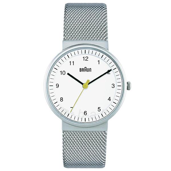 BRAUN BN0031WHSLMHL ホワイト/シルバー BN0031シリーズ [腕時計] 【並行輸入品】