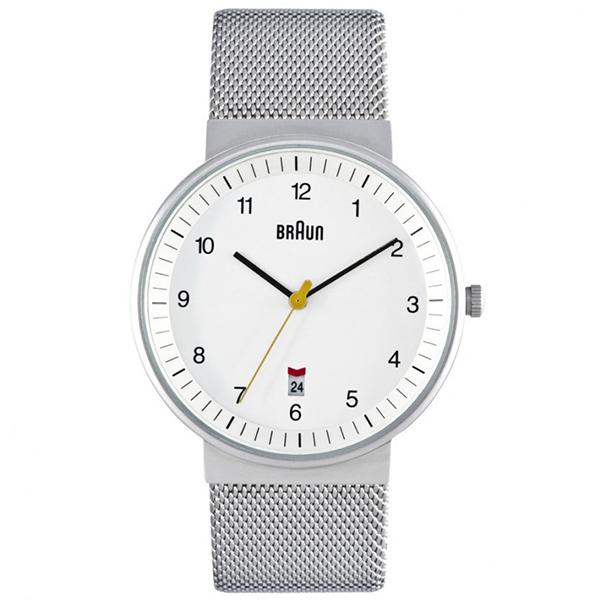 【送料無料】BRAUN BN0032WHSLMHG ホワイト/シルバー BN0032シリーズ [腕時計] 【並行輸入品】