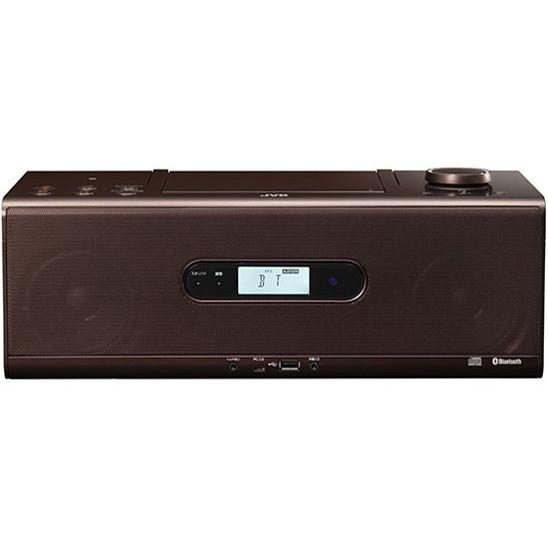 (Bluetooth対応)] JVC RD-W1-T [CDポータブルシステム ブラウン